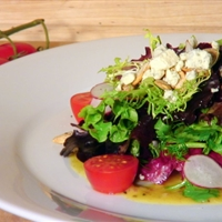 Fresh Herb Salad w/ Shallot & Truffle Vinaigrette