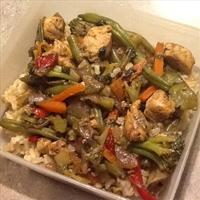 Fresh Herb Stir Fry Sauce