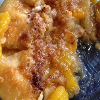 Fresh Peach Cobbler