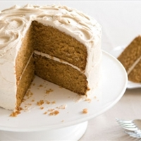 Frosted Caramel Apple Layer Cake