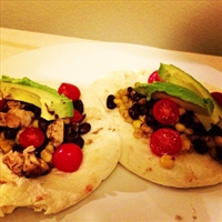 Frozen chicken Tacos