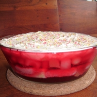 Fruit cocktail trifle