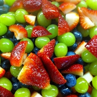 Fruit Salad with Honey-Lime Dressing - Easy