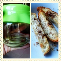 Garlic Bread Finger Toast (eggless)
