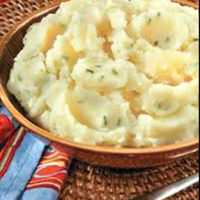 Garlic-Chive Mashed Potatoes