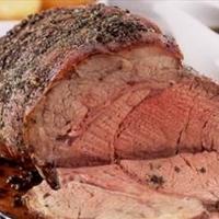Garlic & Herb Crusted Slow Smoked Roast Beef