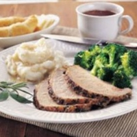 Garlic-Herb Roast Pork