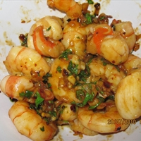 Garlic Shrimp and Scallops
