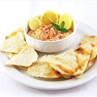 Garlicky Hummus