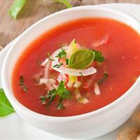 Gazpacho Soup (Vegan)