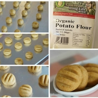 German Cookies (melt in the mouth) (eggless)