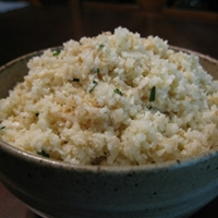 Ginger-Garlic Cauliflower Rice