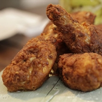 Girdon Ramsay's buttermilk fried chicken