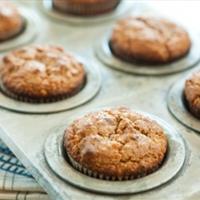 Gluten-Free Carrot Date Muffins