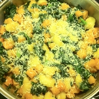 Gnocchi With Squash and Kale