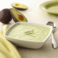 Goat Cheese Chilled Cucumber Avocado Soup