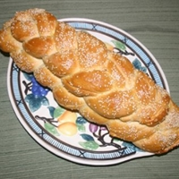 Golden Braided Egg Bread or Challah