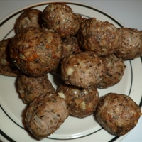Golf ball meatballs