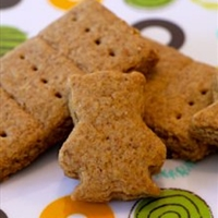 Graham Crackers (Makes A LOT, depending on the shape you cut them in)