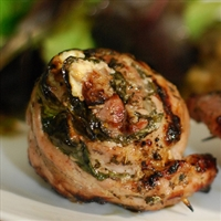 Greek Pork Pinwheels
