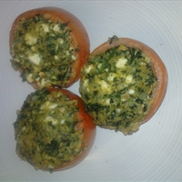 Greek Stuffed Tomatoes