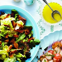 Green Salad with Bacon and Dates (Chtl)