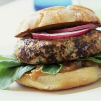 Grilled Tuna Burger