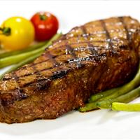 Grilled Butter-Marinated Steak Sirloin Steaks