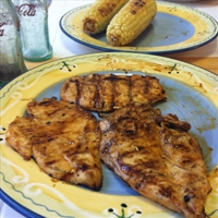 GRILLED CHICKEN WITH CITRUS BBQ SAUCE