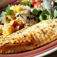 Grilled Citrus Tilapia