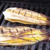 Grilled Corn with Maple Vinaigertte