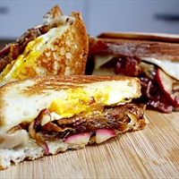 Grilled Egg and Cheese