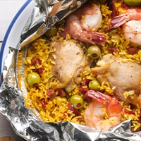 Grilled Paella