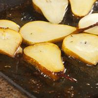 Grilled Pears with Butterscotch Sauce