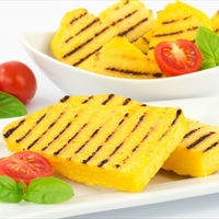 Grilled Polenta with Summer Vegetables