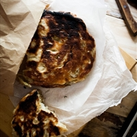 Grilled Rosemary & Onion Focaccia