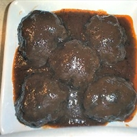 Grilled Salisbury Steak in Belmont Sauce