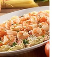 Grilled Shrimp Caprese Pasta