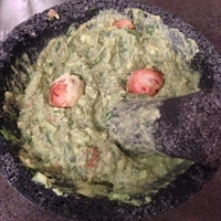 Guacamole with Basil