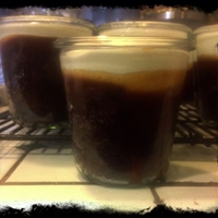 Guinness Chocolate Cake with Whiskey Caramel Sauce or in  Weck Jars