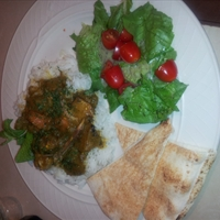 Guyanese Eggplant Chicken Curry