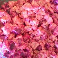 Haitian Beet Salad w Carrots & Potatoes (Salad Bètwouj ak Kawòt et Pomdetè)