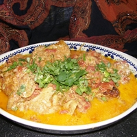 Halibut Bombay Curry