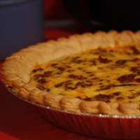 Ham or Sausage Quiche