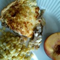 Hamburger Onion Pie