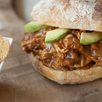 Hawaiian Pulled Pork Sandwhich