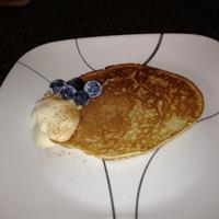 Hazelnut-Vanilla Pancakes