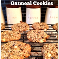 Healthy Oatmeal Cookies.. the chewy kind!
