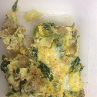 Hearty Egg Casserole (makeover)