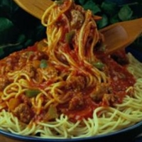 Hearty Spaghetti with Pork